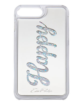 Silver Floating Happy iPhone 6 or 7 Plus Case, METALLIC, hi-res