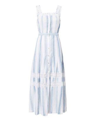 Eve Striped Maxi Dress, BLUE-LT, hi-res