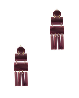 Skyscraper Earrings, ROSE, hi-res