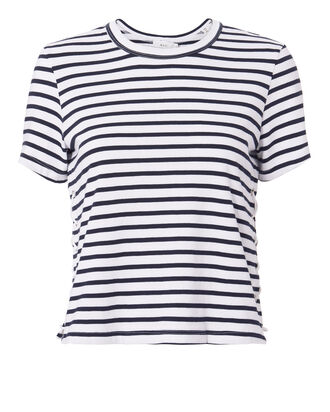 Everly Striped Tee, STRIPE, hi-res