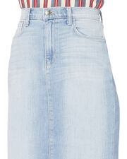 Montecito High-Rise Denim Skirt, DENIM-LT 3, hi-res
