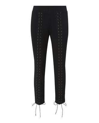 Laced-Up Sweatpants, BLACK, hi-res