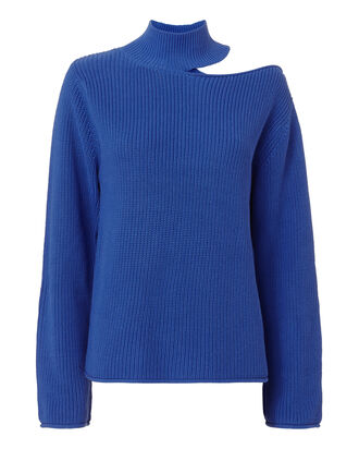 Langley Blue Lagoon Sweater, BLUE, hi-res
