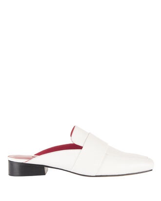 Filiskiye Slide Loafers, WHITE, hi-res