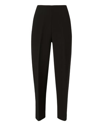 Tuxedo-Striped Tailored Pants, BLACK, hi-res