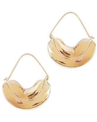 Paniers Dores Earrings, METALLIC, hi-res
