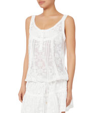 Jaz Mini Dress, WHITE, hi-res