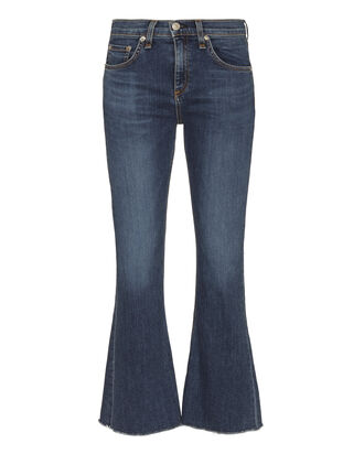 Paz 10 Inch Crop Flare Jeans, DENIM, hi-res