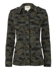 Cromwell Military Camo Jacket, PRINT, hi-res