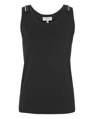 Jewel-Embellished Tank, BLACK, hi-res