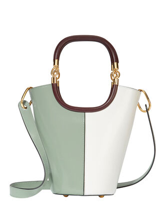 Maili Colorblock Medium Bucket Shoulder Bag, BLUE, hi-res