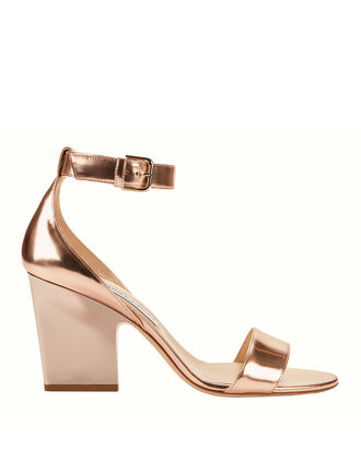 Edina Rose Gold Sandals, COLORBLOCK, hi-res