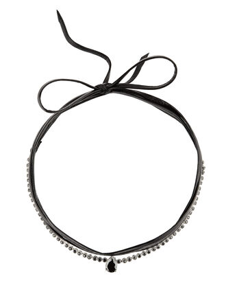 Monarch Micro Pointed Jet Choker, BLACK, hi-res