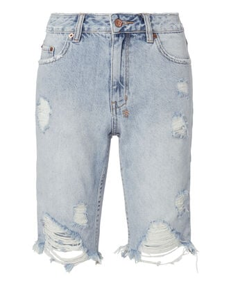 App-Laye Long Shorts, DENIM, hi-res