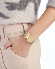 Wide Pinned Pailette Cuff, GOLD, hi-res