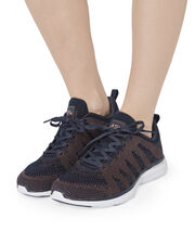 TechLoom Pro Midnight Rose Gold Performance Sneakers, COLORBLOCK, hi-res