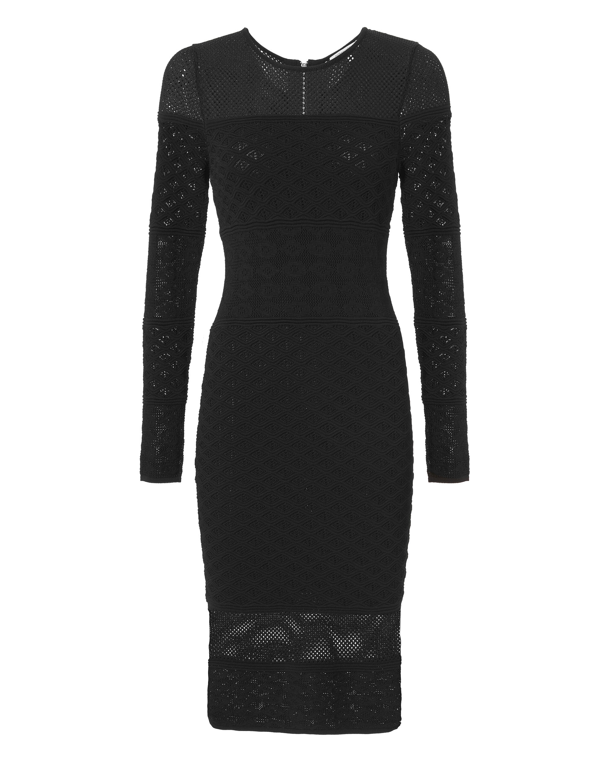 Heatherlynn Dress, BLACK, hi-res