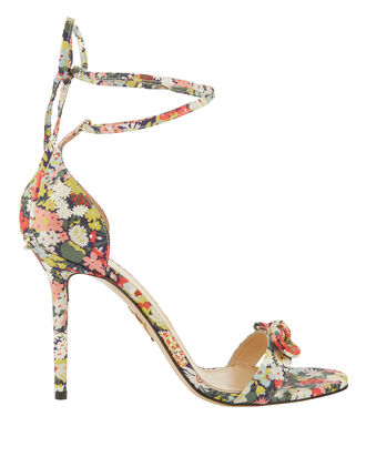 Shelley Floral Sandals, PRINT, hi-res