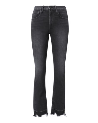 Shelter Straight Dark Denim Crop Jeans, DENIM, hi-res