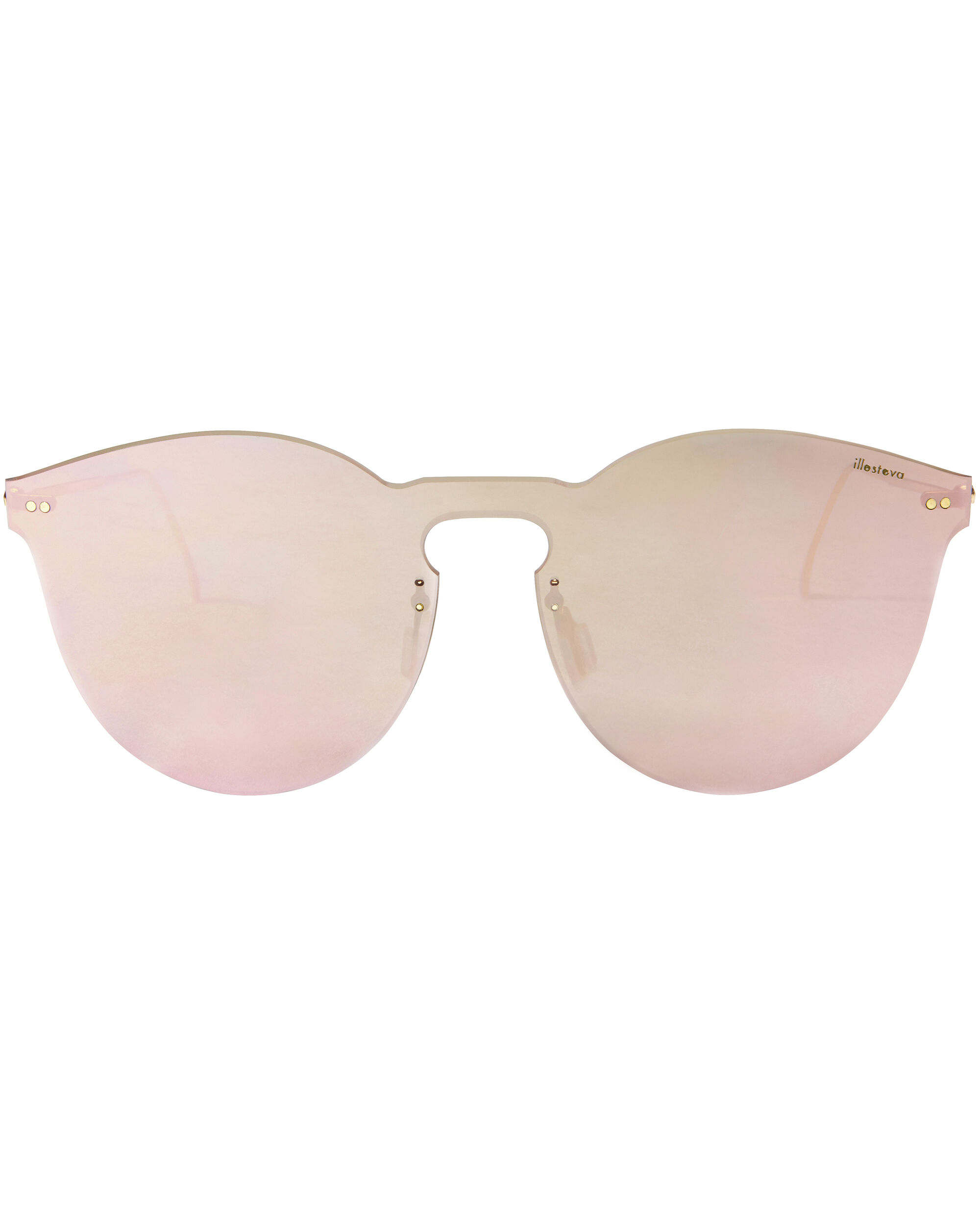 Leonard II Rose Mask Sunglasses, METALLIC, hi-res