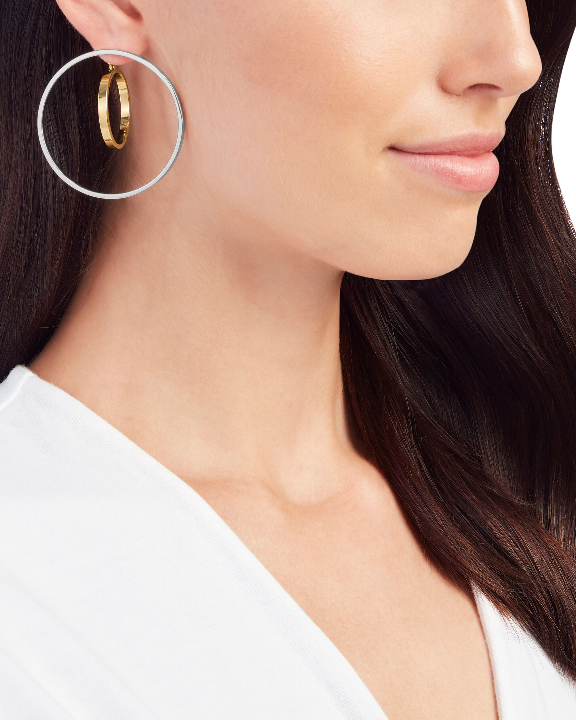 Rise Hoop Earrings, MULTI, hi-res