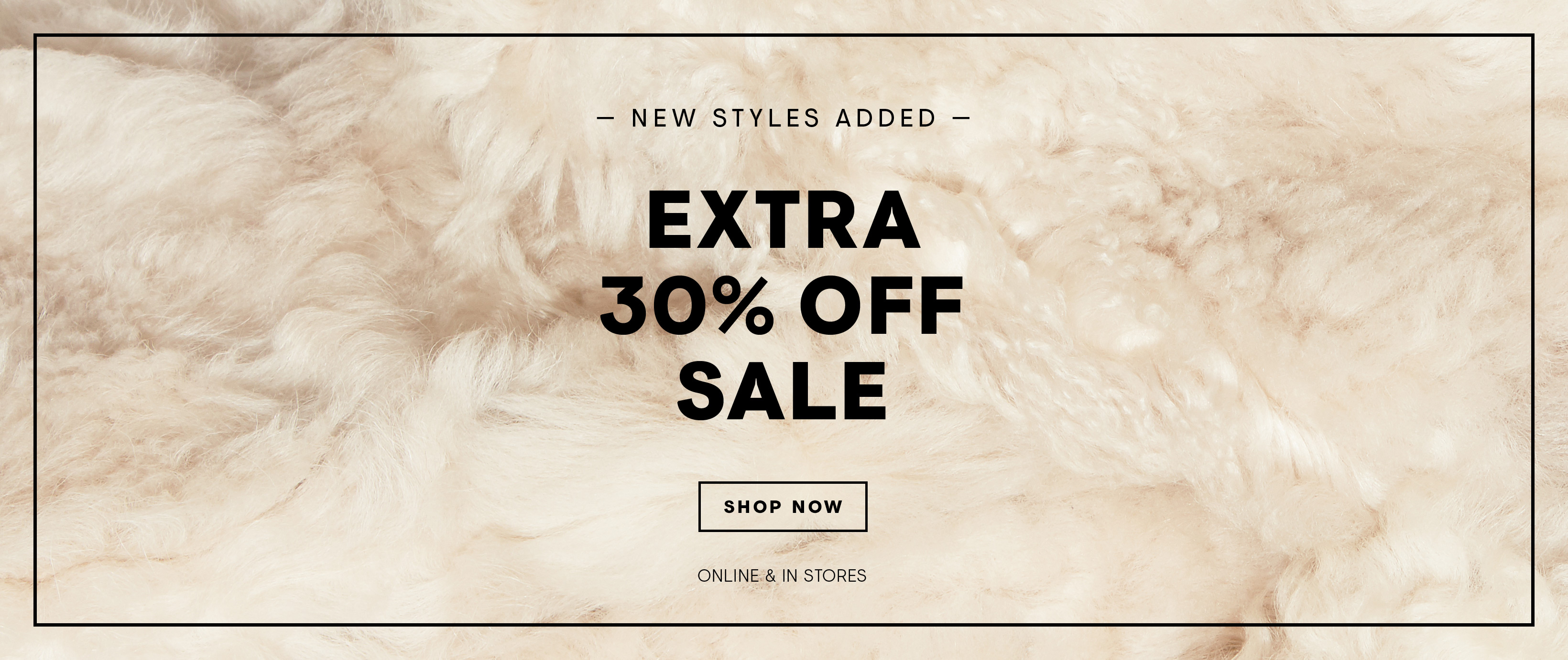 Extra 30 Off New Styles