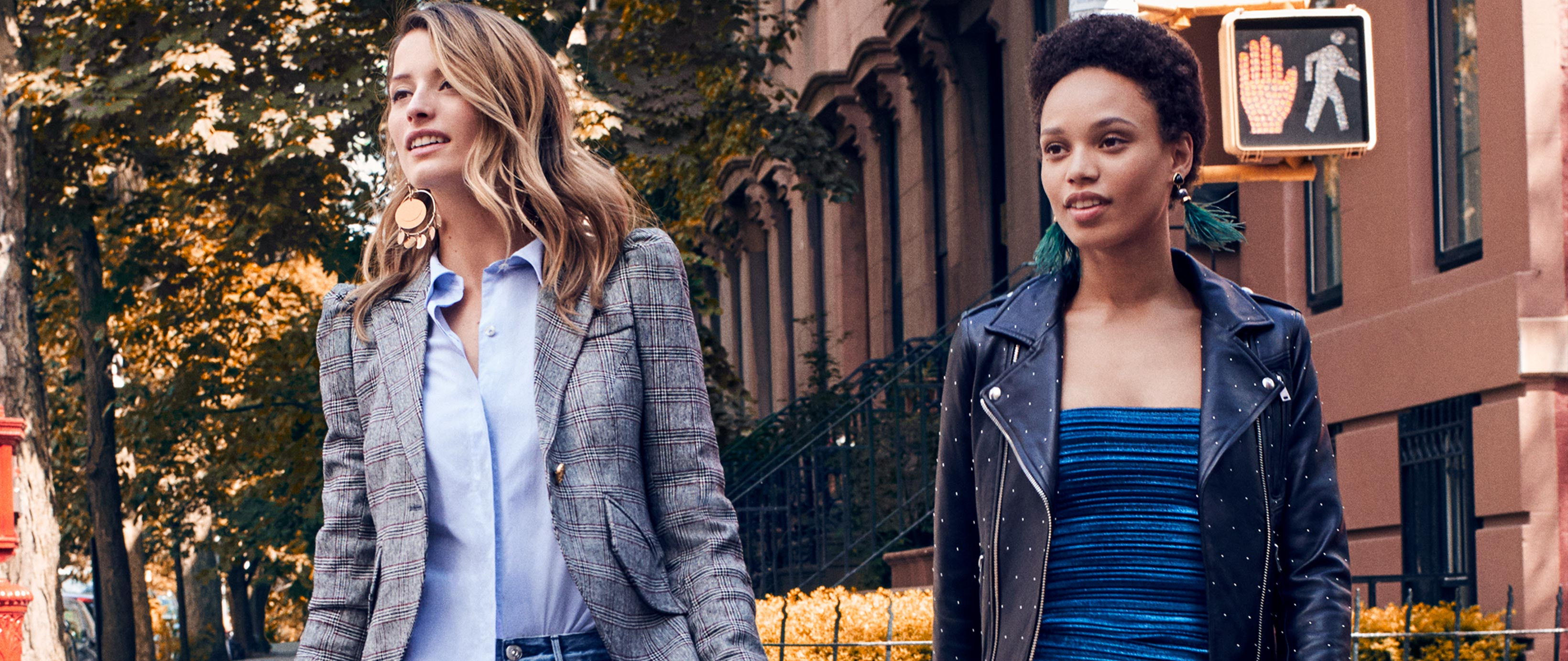 The Fall Jacket Edit: A chic transitional piece is the answer to slipping temperatures: Shop Now