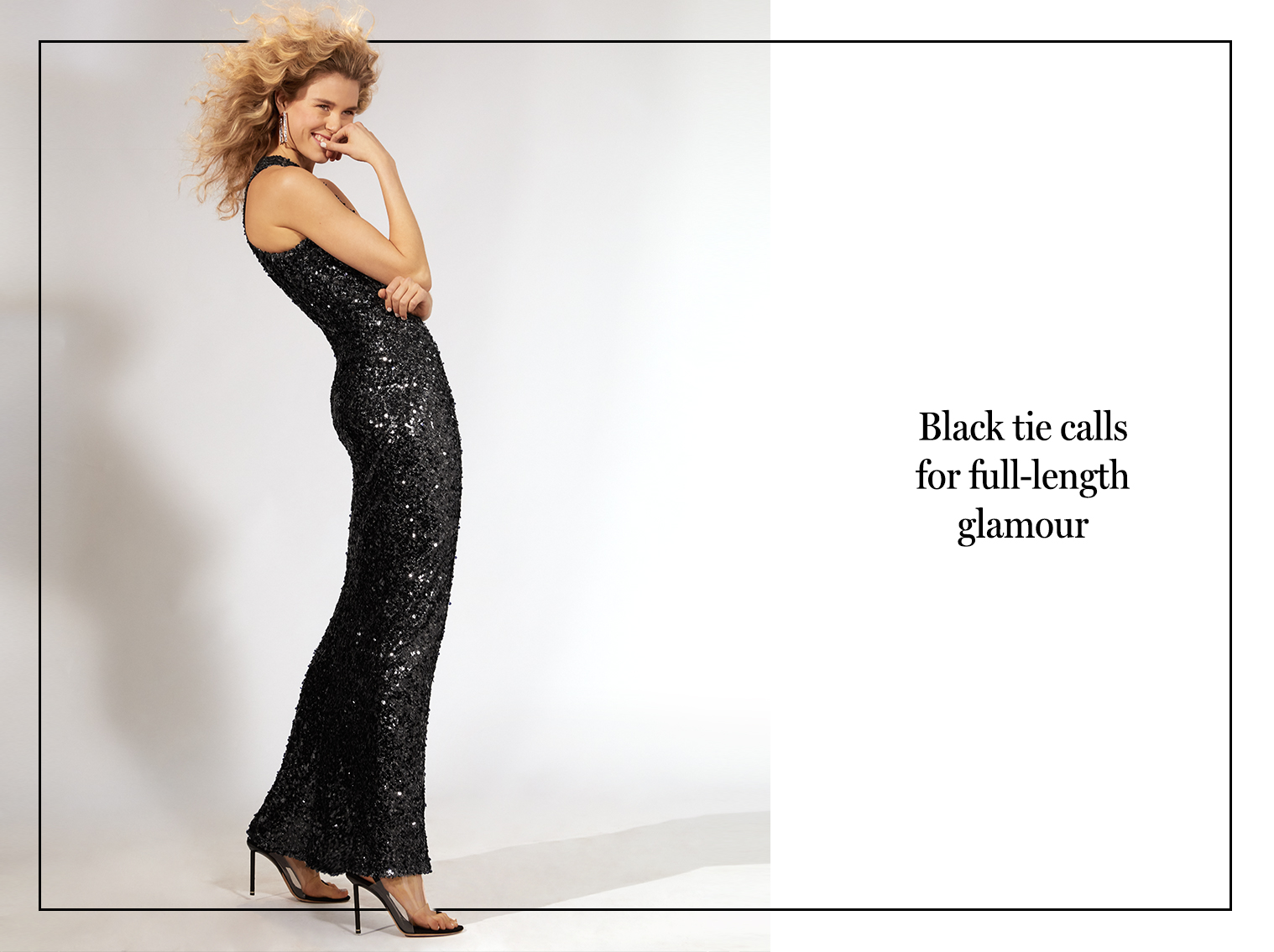 Evening dresses and evening gowns intermix black tie calls for full length glamour ombrellifo Choice Image
