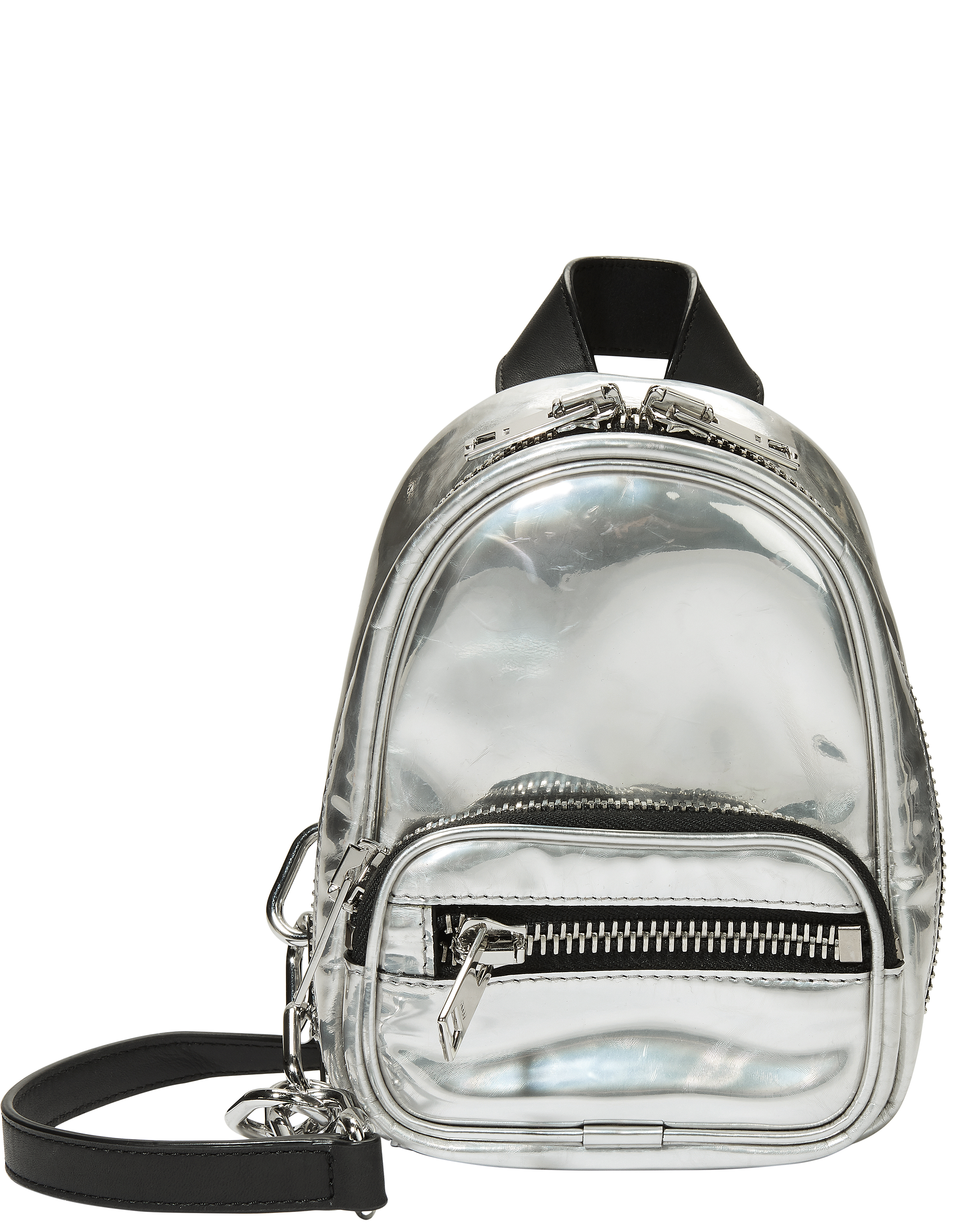 Attica Silver Backpack Bag