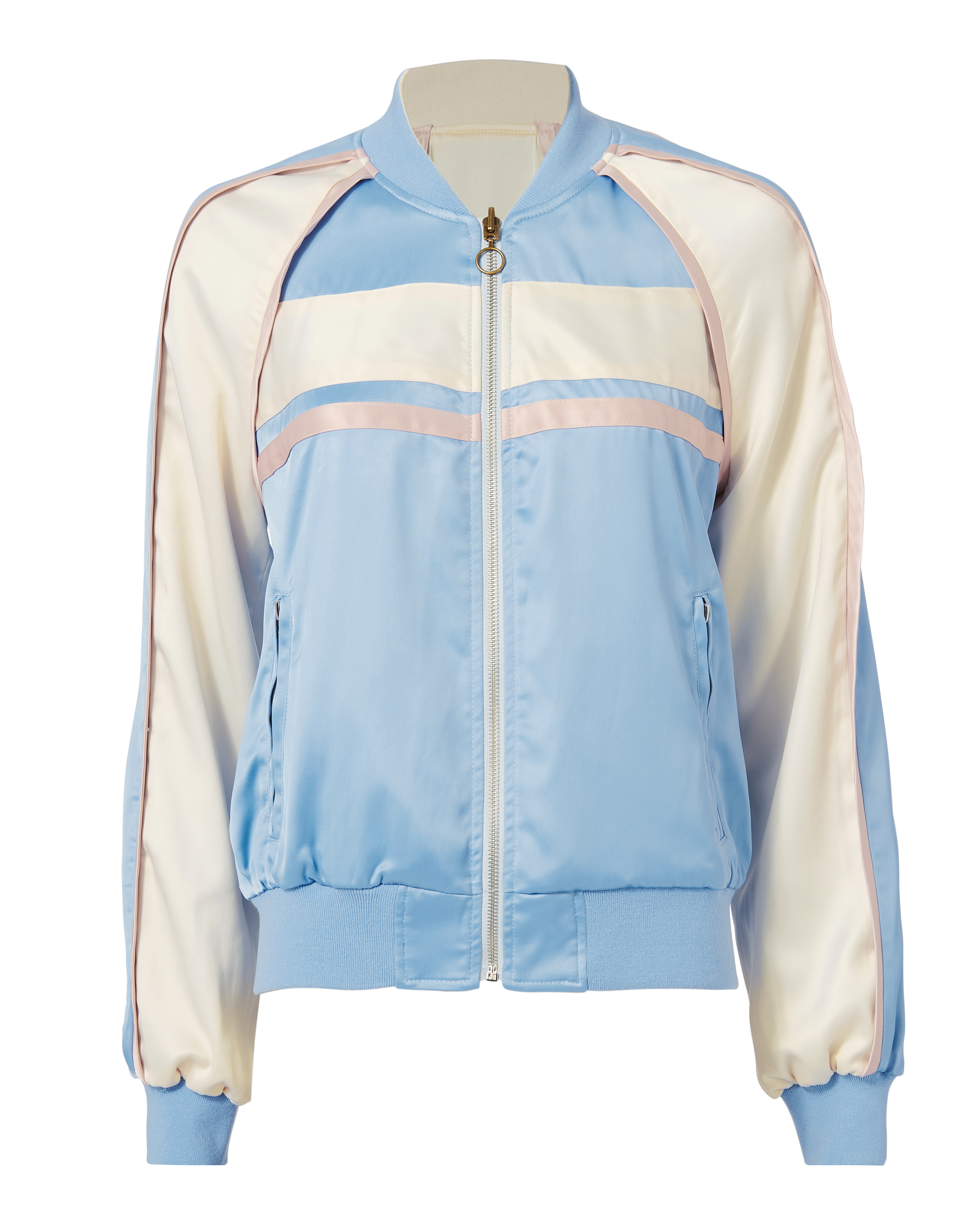 PAM AND GELA Silky Track Jacket