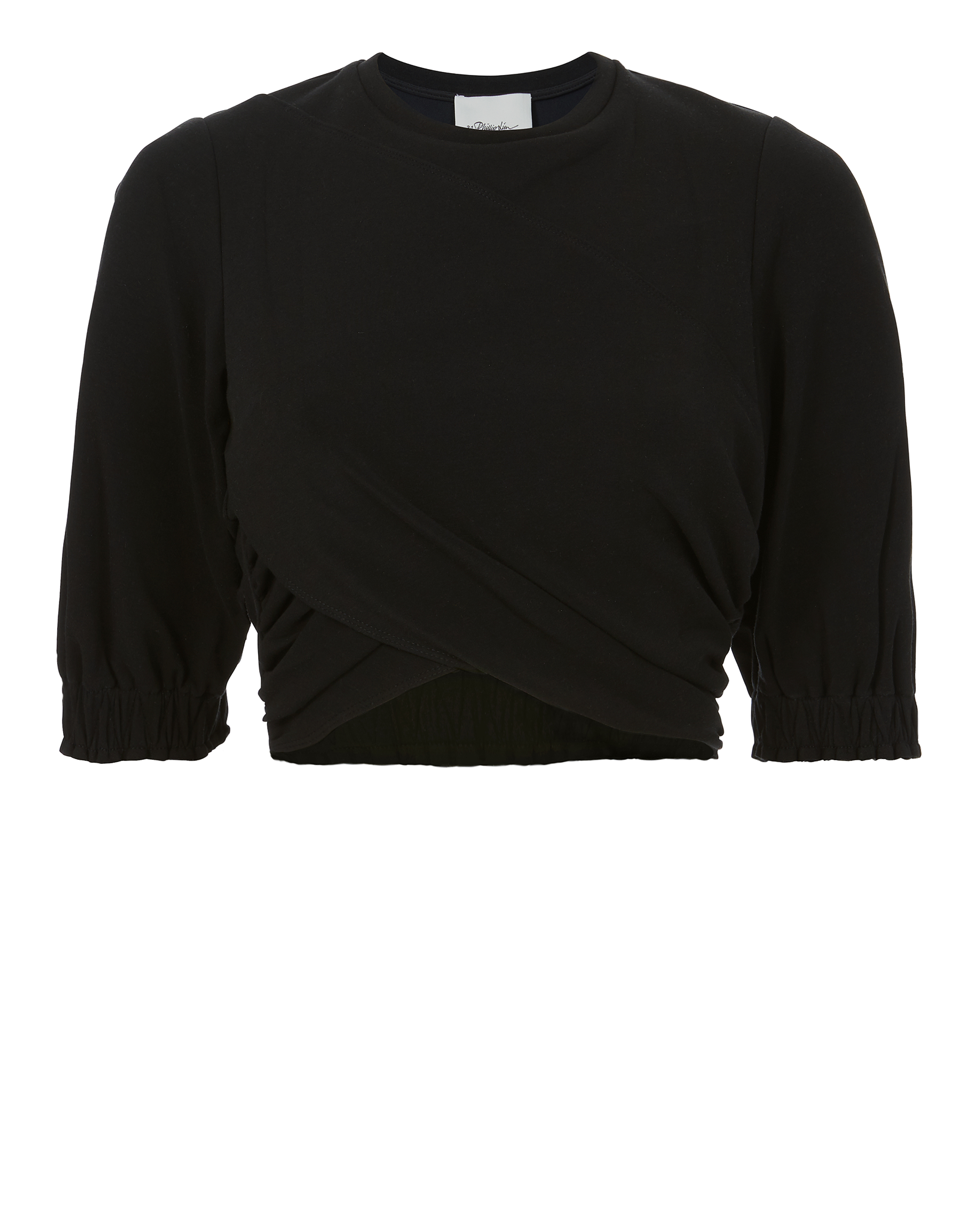 PHILLIP LIM Twisted Cropped Tee