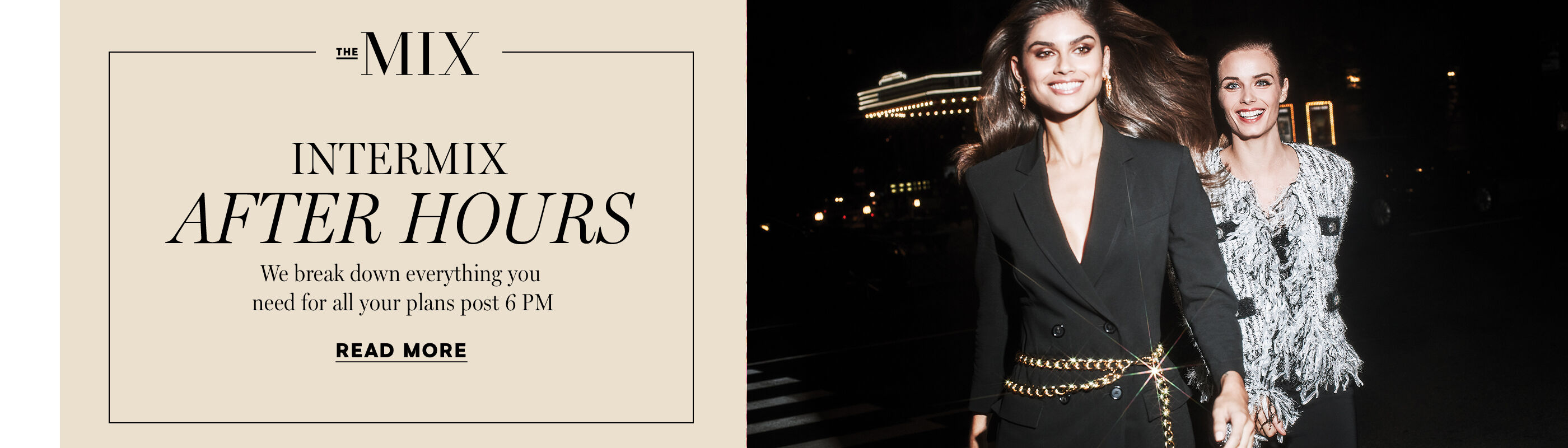 Introducing INTERMIX After Hours
