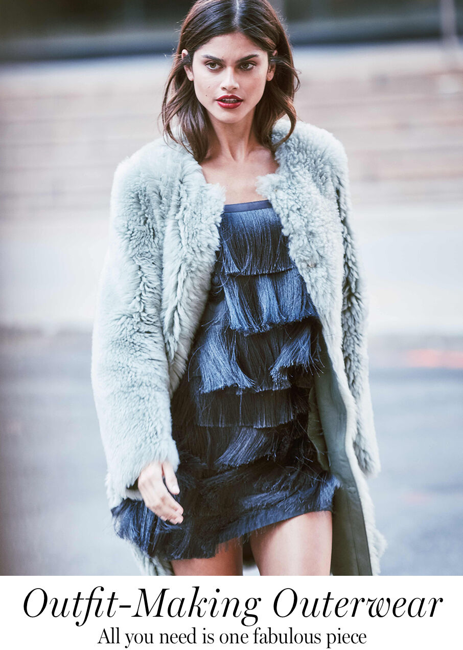 Outfit-Making Outerwear