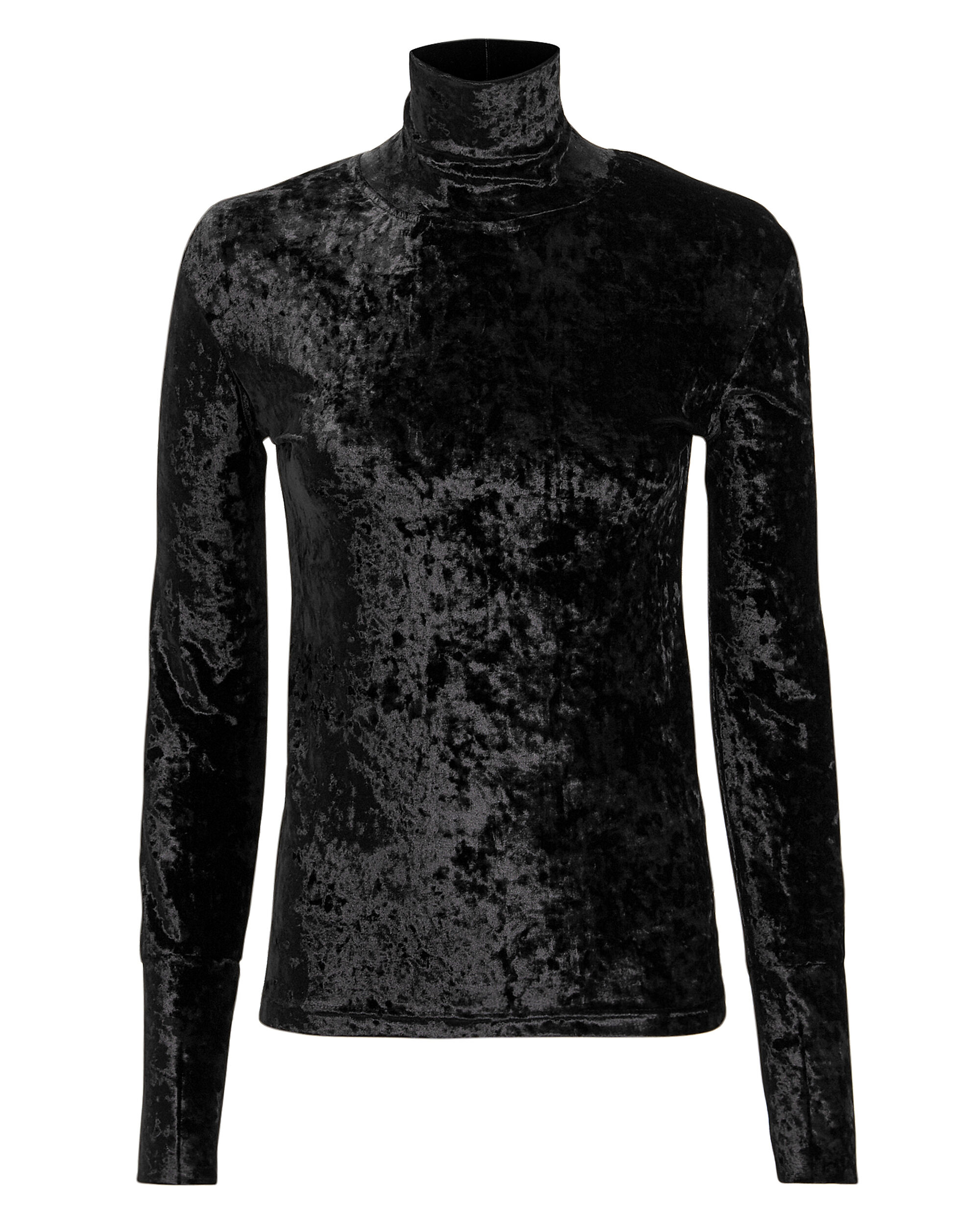Delphine Turtleneck, BLACK, hi-res
