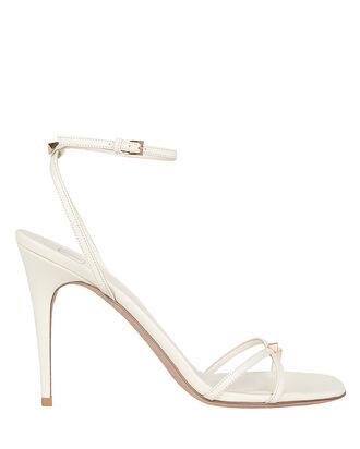 VLOGO Napa Leather Sandals, IVORY, hi-res