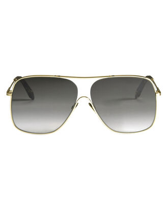 Gold Loop Navigator Sunglasses, METALLIC, hi-res