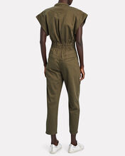 Chiara Utility Sleeveless Jumpsuit, OLIVE/ARMY, hi-res