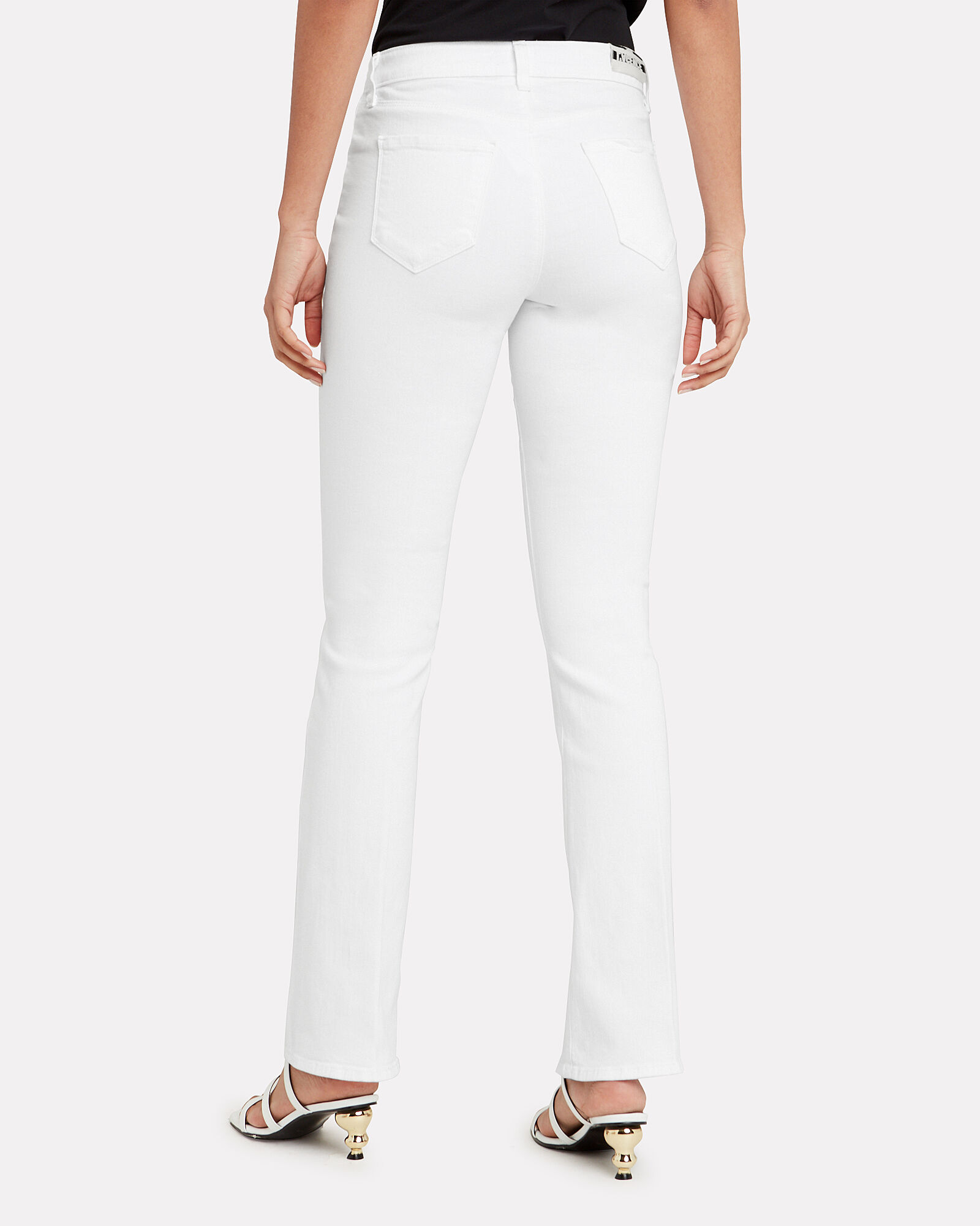 Oriana Straight Leg Jeans, WHITE DENIM, hi-res