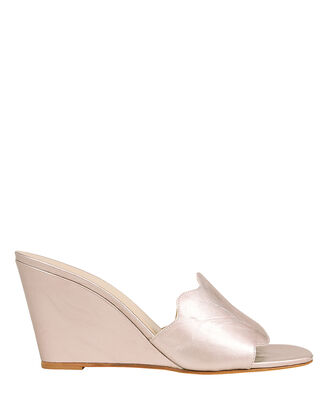 Wave Strap Wedges, ROSE GOLD, hi-res