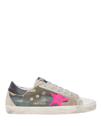 Superstar Camouflage Canvas Sneakers, CAMOUFLAGE, hi-res