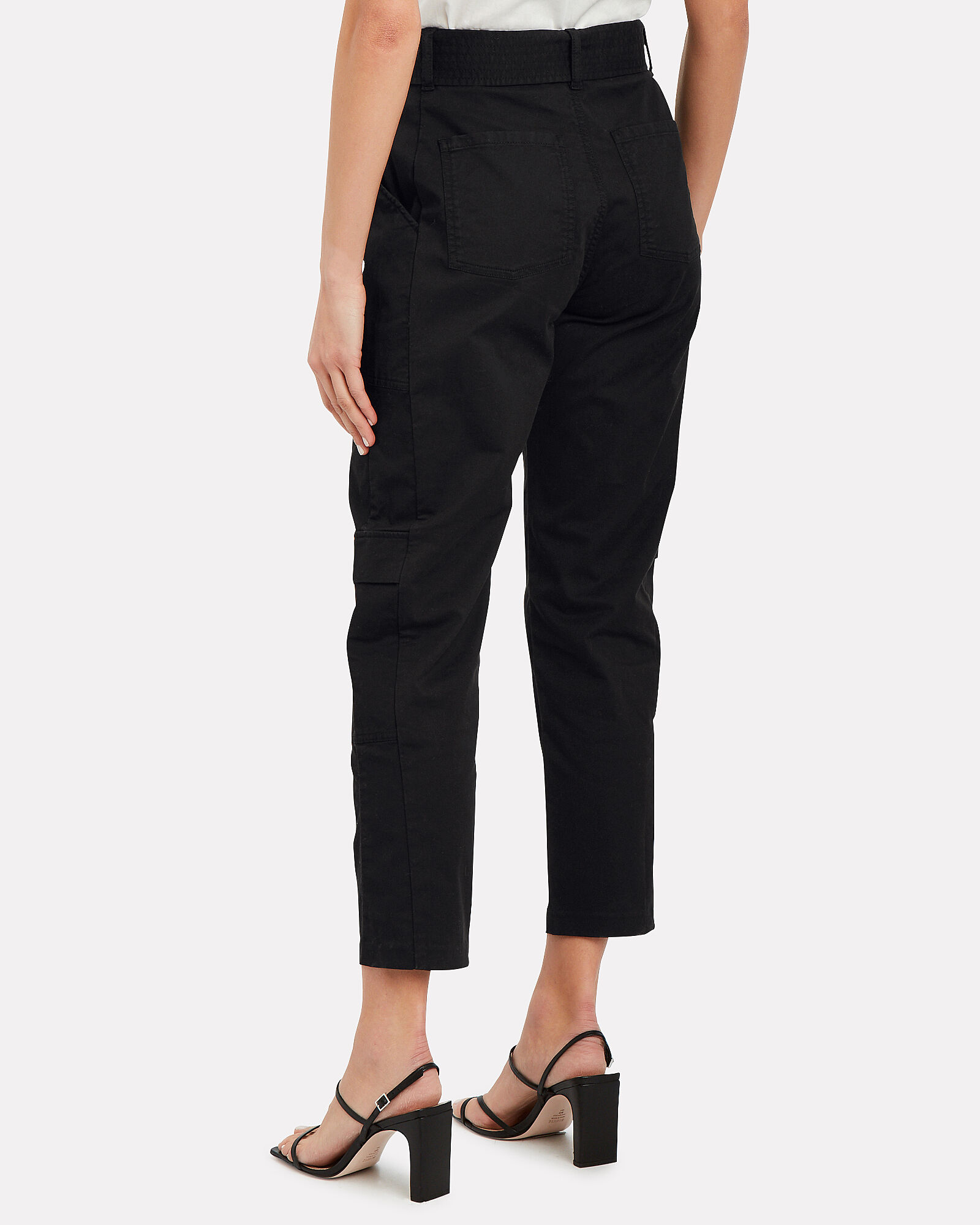 Athena Surplus Cargo Pants, BLACK, hi-res