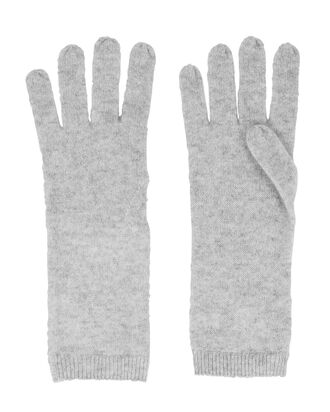 Cashmere Gloves, GREY, hi-res