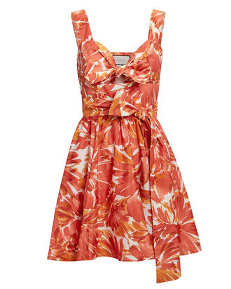 Ilda Floral Dress, MULTI, hi-res