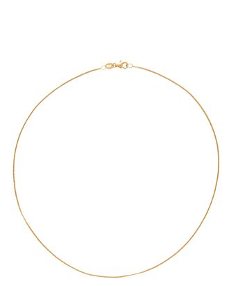 Diamond Curb Chain Necklace, GOLD, hi-res