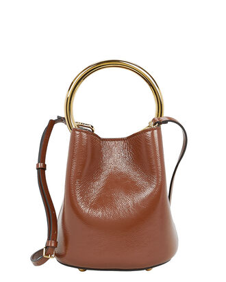 Pannier Top Handle Bag, COGNAC, hi-res