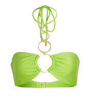 Allie Halter Bikini Top, LIGHT GREEN, hi-res