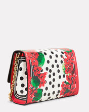 Mini Welcome Crossbody Bag, RED, hi-res