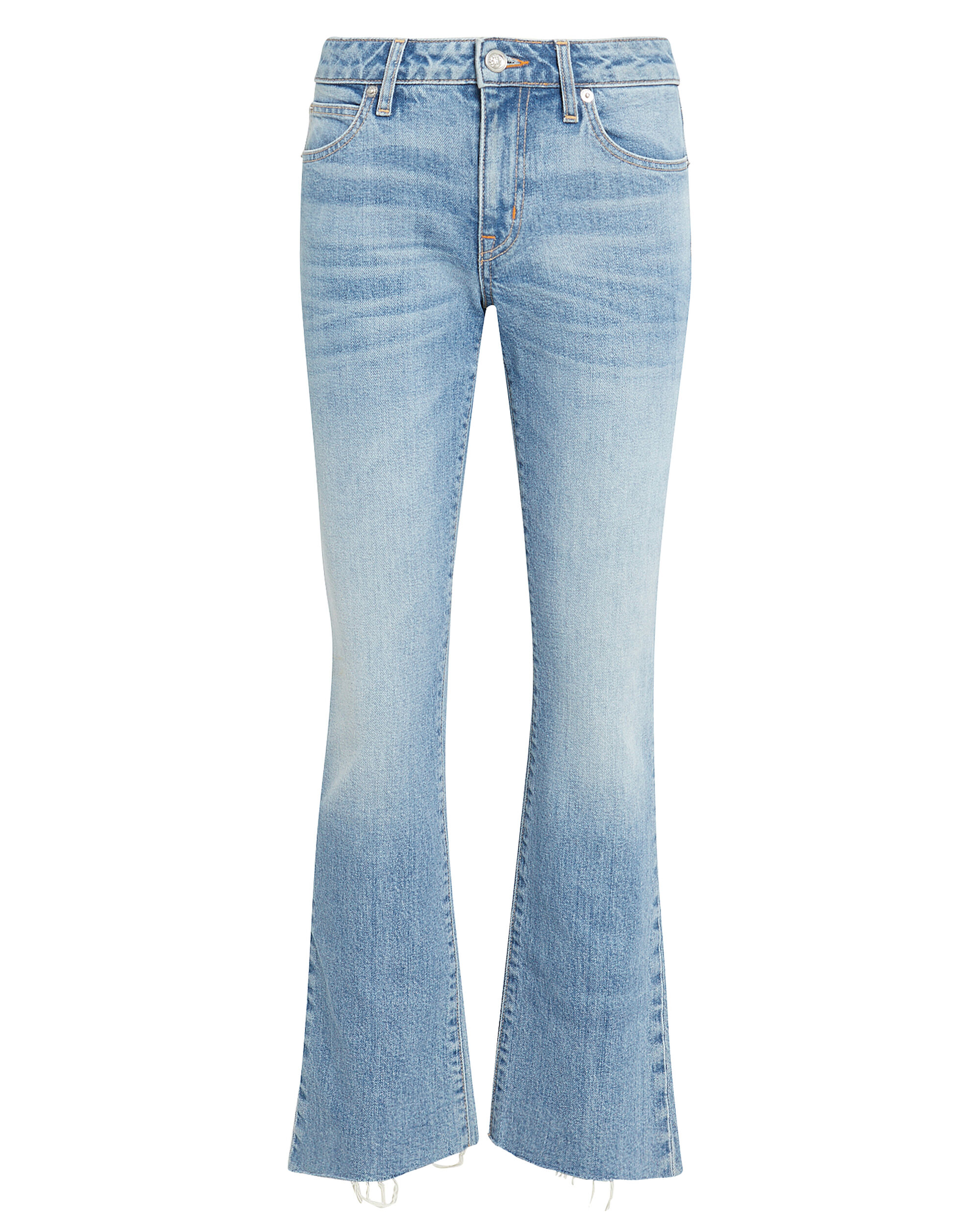 Scarlett Kick Flare Jeans, LIGHT WASH DENIM, hi-res