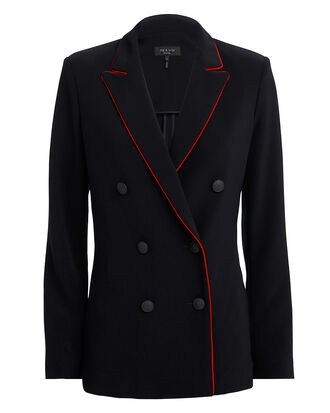 Jarvis Blazer, NAVY/RED, hi-res