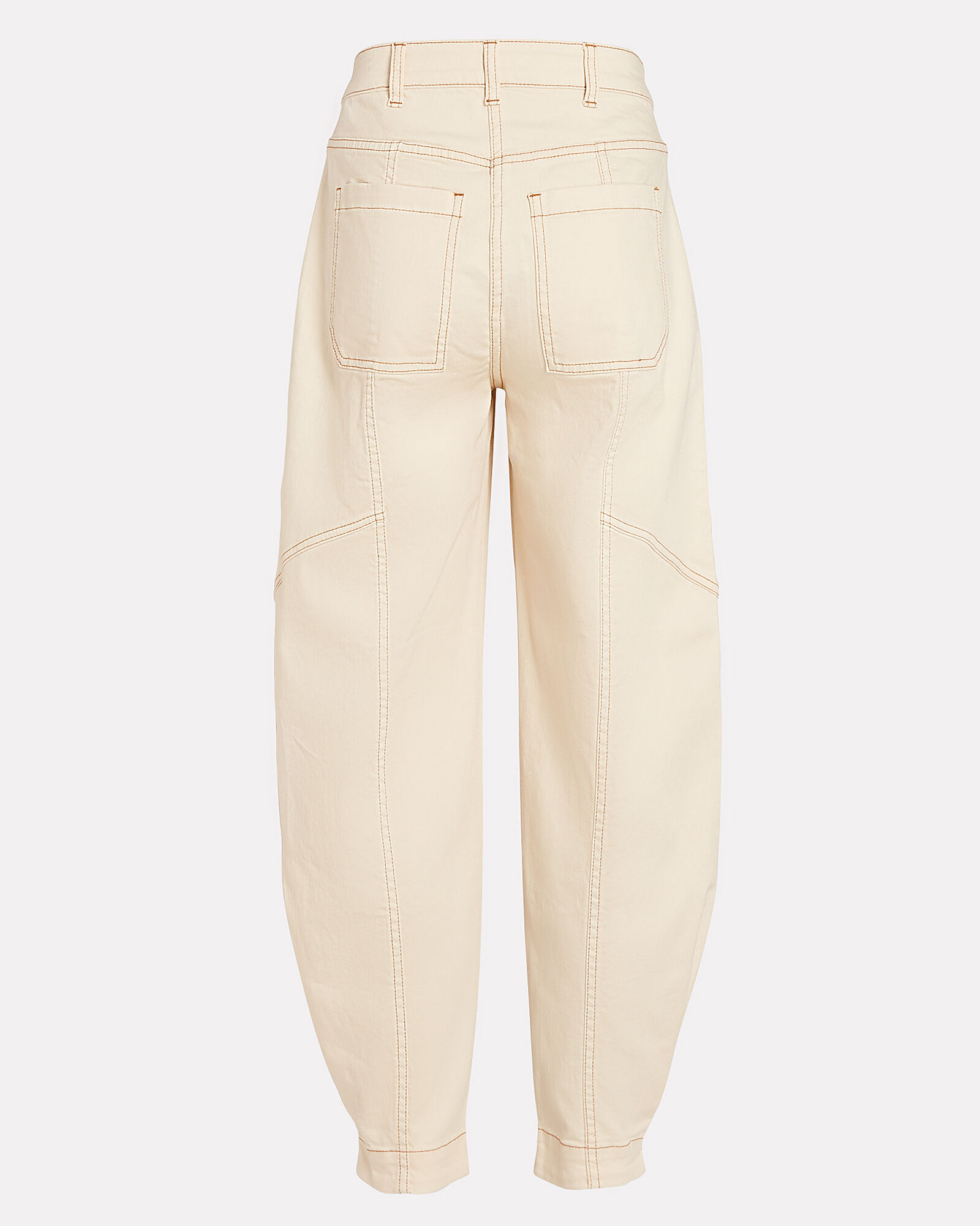 Brodie Cropped High-Rise Jeans, IVORY, hi-res